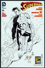 SDCC 2014 Exclusive Superman #32 Sketch Variant Cover Art SIGNED John Romita Jr.