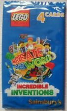 588 CARDS 147 PACKS SAINSBURYS LEGO CREATE THE WORLD CARDS INCREDIBLE INVENTIONS