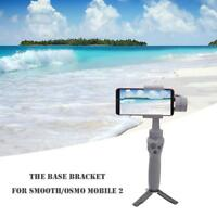 ABS Black Handheld Gimbal Stabilizer Foldable Tripod for DJI Smooth/OSMO Mobile