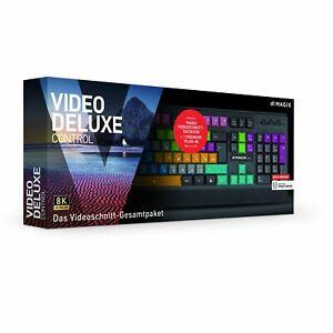 2672540 Magix Video Deluxe Control Version 2021 inkl. Tastatur - NEU OVP