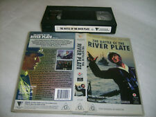 Vhs*BATTLE OF THE RIVER PLATE* Rare 1956 Roadshow  Quayle:Finch:Gregson - War S1