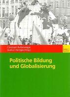 Politische Bildung und Globalisierung * Butterwegge Hentges 2002