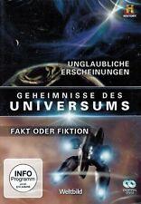 DOPPEL-DVD - Geheimnisse des Universums - Unglaubliche Erscheinungen u.a.