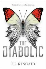 The Diabolic by S. J. Kincaid - HARDCOVER - BRAND NEW!