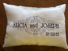 Kneeling Pillows for Wedding - Personalized - Set of 2