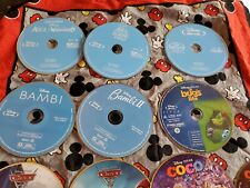 """Lot of 25 Movies Disney BLU RAY 'DISCS ONLY, NO CASES"""" Read Description"""