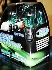 Green/White H1 Xenon HID Look Halogen Foglight Fog Lights Bulbs