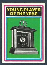 TOPPS 1976 FOOTBALLERS #297-YOUNG PLAYER OF THE YEAR AWARD