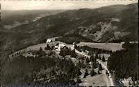 Brend Hochschwarzwald Postkarte 1963 Luftbild Totale mit Aussichtsturm Gasthaus