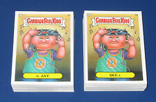 ALL NEW GARBAGE PAIL KIDS BNS1 COMPLETE SET 1-55 A & B    110 TOTAL STICKERS