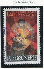 TIMBRE FRANCE OBLITERE N° 2206 METIER FERRONNERIE / Photo non contractuelle