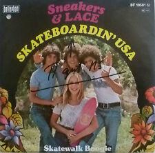 "7"" 1978 KULT VG++ ! SNEAKERS & LACE : Skateboardin´ USA"