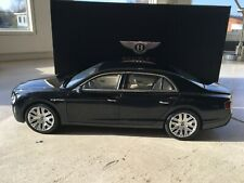 bentley flying spur w12 black kyosho 1:18