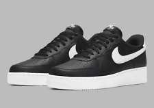 Nike Air Force 1 '07 Leather Shoes Black White CT2302-002 Men's Multi Size NEW