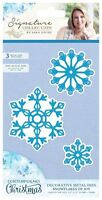 Sara Davies Contemporary Christmas Signature Collection - Snowflakes of Joy Die