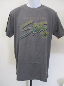 New Dallas Stars Adult Mens Sizes S/M/L/XL Gray Shirt MSRP $35