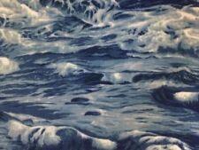 Blue Sea 100% Cotton by the half metre