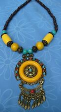 Elaborate African Crafted Beads Necklace