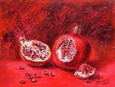 Original oil painting signed by Russian artist E.Gagarina, realism, still life