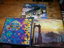 THE MOODY BLUES ( 3 ) LP sale: BLUEJAYS / CAUGHT LIVE + 5 PROMO / MICHAEL PINDER