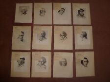 W PECH ORIG INKED PLATE PRINTS, W PECH ETCHING  OF ,W PECH SIGNED PRINT