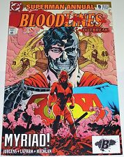 Superman Annual #5 from 1993 VF- to VF+ Bloodlines