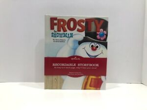Hallmark Recordable Storybook Frosty the Snowman with Sound NEW Sealed