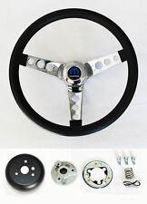 """New! 1967 Charger Dart Coronet Grant Black Steering Wheel 13.5"""" 13 1/2"""""""
