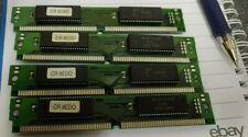 4x Hyundai HY511816C 8MB EDO SIMM Memory Modules