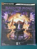 SAINTS ROW IV 4 SIGNATURE SERIES STRATEGY GAME GUIDE BRADY GAMES VERY GOOD