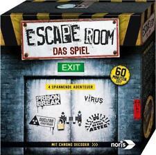 Noris Spiel Escape Room inkl 4 Fälle Chrono Decoder Brettspiel Rollenspiel NEU