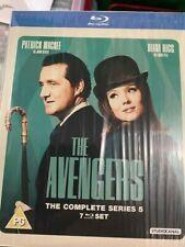 THE AVENGERS complete series 5 Region B blu Ray set