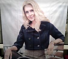 """Fotodruck-Stoffbanner """"Blonde Woman"""" 160 x 160 cm"""
