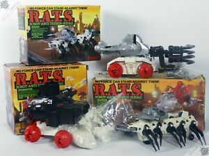 TOMY R.A.T.S. RATS COLLECTION LOT STARRIORS ZOIDS VINTAGE ROBOT SPACE TOYS