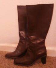 NATURALIZER womens boots New US Size 8 M Trinity Chocolate