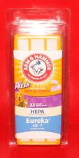 Arm & Hammer Odor Eliminating Hepa Vacuum Filter 62639F Eureka HF-7 W-Scent Pack