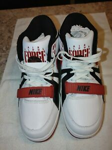 """Brand new! Flawless! Nike Air Alpha Force 2 """"THE BLACK""""! Varsity red/white/black"""