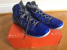 Authentic Men's 2013 Nike Hyperdunk Blue & Gray Basketball Shoes