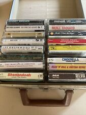 Lot 16 Classic Rock / Pop Rock-other Vintage Cassette Tapes With Case