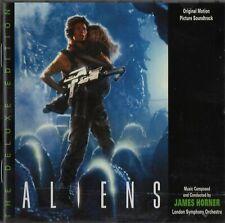 ALIENS -JAMES HORNER - DELUXE EDITION cd film soundtrack album