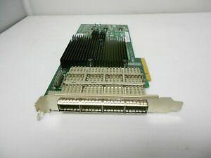 Netapp DS2246 / DS4243 / DS4246 QSFP SFF-8436 Linux Server PCIe Quad PT SAS Card