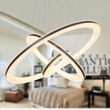 Modern Fashion Fixture Ceiling Light Lighting LED Pendant Chandelier Lamp 3Rings
