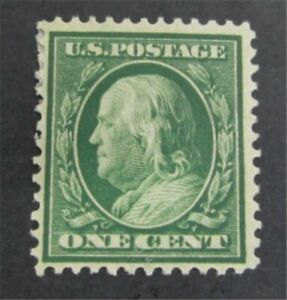 nystamps US Franklin Stamp # 357 Mint OG H         S24y344
