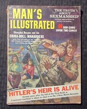 1961 March MAN'S ILLUSTRATED Magazine v.6 #3 VG- 3.5 Baby Face Nelson