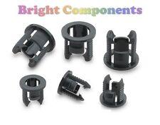 20x 3mm Led Bisel Clip Soporte Montaje (Push Fit) - 1st Class Post