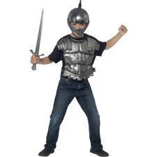 Medieval Helmet - Fancy Dress Armour Sword Boys Knight Costume Childs Accessory