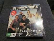 STORAGE WARS THE GAME BOARD GAME NEW FACTORY SEALED 2012 A&E GO BID OR GO HOME
