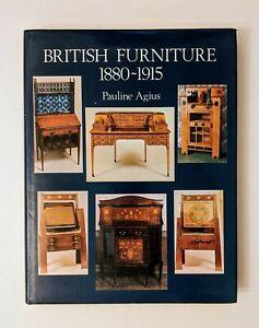 BRITISH FURNITURE Pauline Agius Late Victorian Edwardian Walton Gimson Barnsley