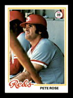 1978 Topps #20 Pete Rose NM X1350951