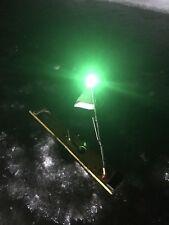Tip-up Light strike indicator Walleye fishing ice fishing